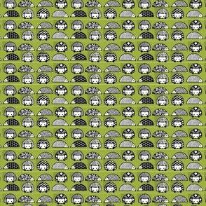 Hedgehogs-spoonflower