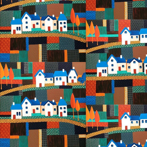 Tiny Town on the Patchwork Hill