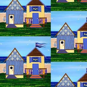 Beach Huts no.2