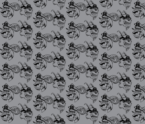 Navy Chiefs fabric by michelleholt on Spoonflower - custom fabric