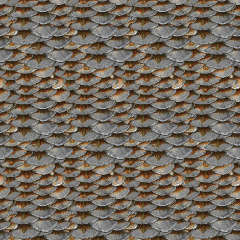 Salmon Scales  fabric by peacoquettedesigns on Spoonflower - custom fabric