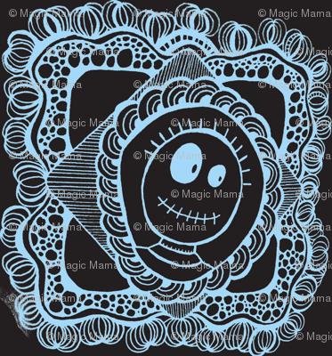 Skeleton Portrait-Dark