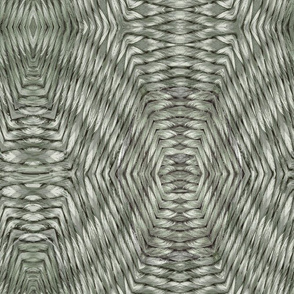 Mint sage basket weave
