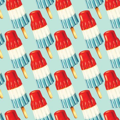 Bomb Pop Pattern fabric by kellygilleran on Spoonflower - custom fabric