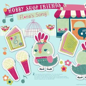Hobby Shop Friends- Flora