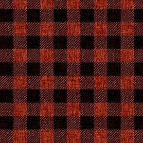 Rustic Check - red