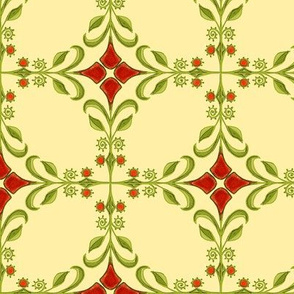 Americana Tiled Red