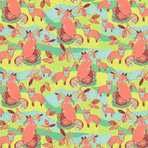 DwellerFoxIndexedRepeat_Day_Spoonflower