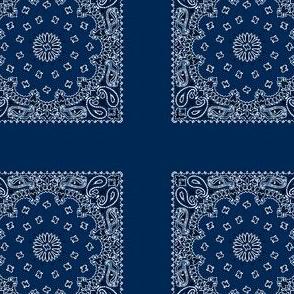 Minidanna A-Navy Blue