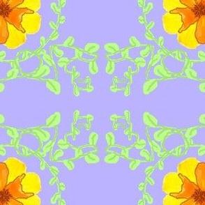 Yellow Flower on Sky Blue