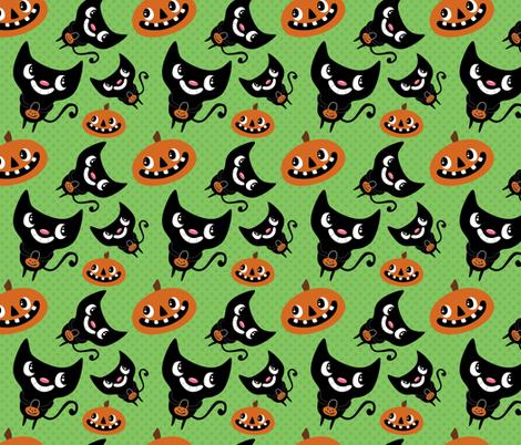 Halloween Fun - Large fabric by pigandpumpkin on Spoonflower - custom fabric