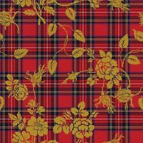 Royal Stewart Tartan Rococo