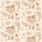 Tea blossoms