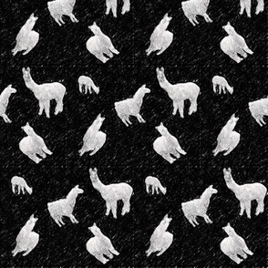 Llamas-black2