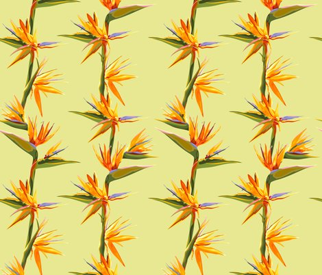 Rseamless_patter_of_strelitzia_flowers_on_a_bench_with_leaves_shop_preview