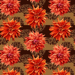 seamless_pattern_of_georgina_flowers_with_horizontal_stripes_in_background