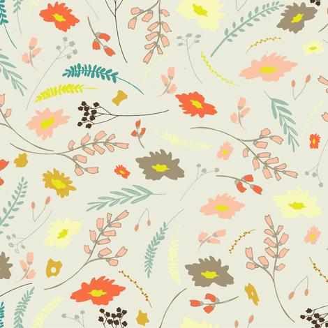wildflowers1orig fabric by b__woolf on Spoonflower - custom fabric