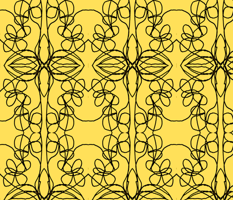 Morning Leaves fabric by menny on Spoonflower - custom fabric