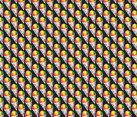 Snow Cone fabric by kellygilleran on Spoonflower - custom fabric