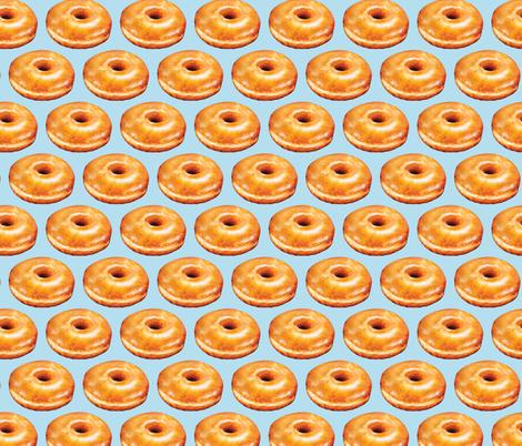 Glazed Donut fabric by kellygilleran on Spoonflower - custom fabric