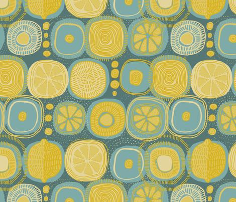 Sun Juice fabric by mariaspeyer on Spoonflower - custom fabric