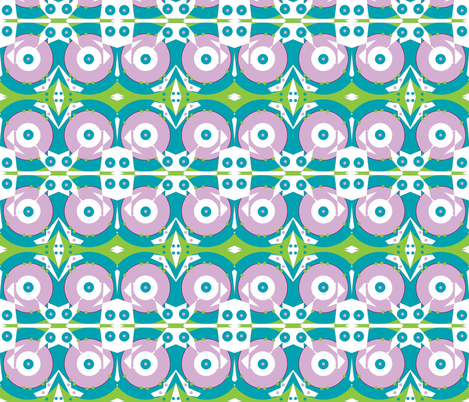 At the Lily Pond fabric by susaninparis on Spoonflower - custom fabric