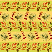 Rrrautumn_seamless_pattern__with_leaves__berries__pine_cones_and_acorns_in_stripes_shop_thumb