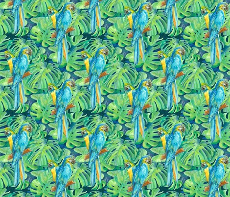 Rrseamless_pattern_element_of_two_ara_parrots_and_leaves_of_monstera_shop_preview