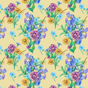 seamless_pattern_of_bouquet_of_iris__forget-me-not_and_cichorium