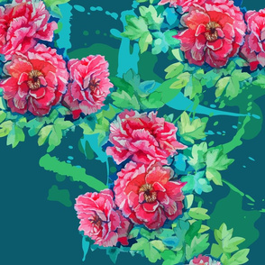 seamless_pattern_of_bright_watercolor_roses__leaves_and_blots_of_paint