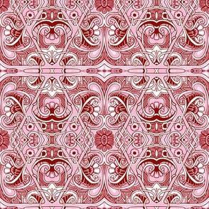 Pink Diamond Paisley Stuff