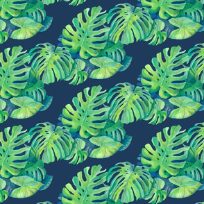 Seamless_pattern_with_monstera_plant_leaves