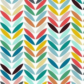 llama arrow chevron white