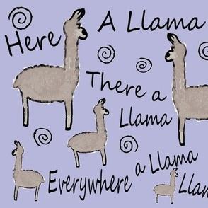 Everywhere A Llama Llama