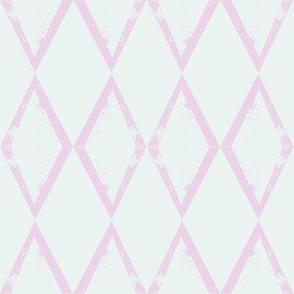 Pink Green Baby Diamond