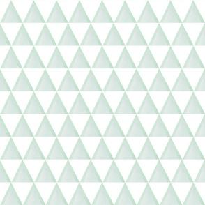 Green triangle small