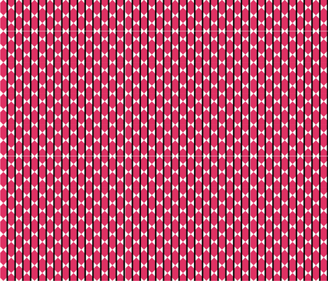 Signature_pink fabric by lucky_hearts on Spoonflower - custom fabric