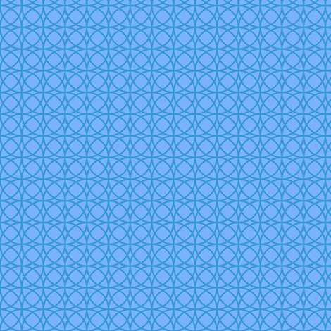 circles blue on blue fabric by tailorfairy on Spoonflower - custom fabric