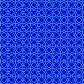 circle blue on blue