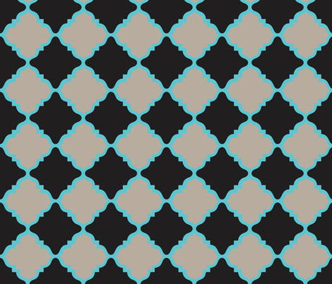 Quatrefoil Pizzazz fabric by alli's_studio on Spoonflower - custom fabric