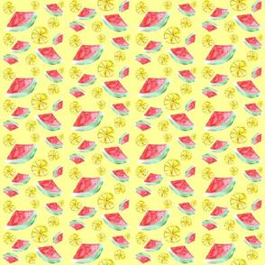 Watermwlon vs. lemon