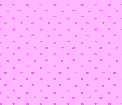 mini hearts pink fabric by emmakisstina on Spoonflower - custom fabric