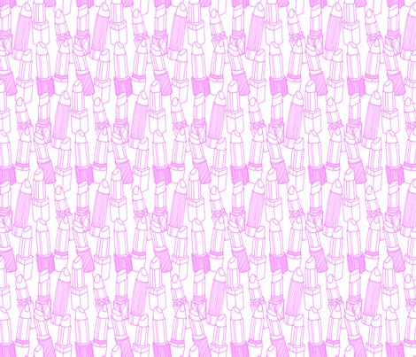 Big_lipstick_outlines_pink_spoonflower_shop_preview