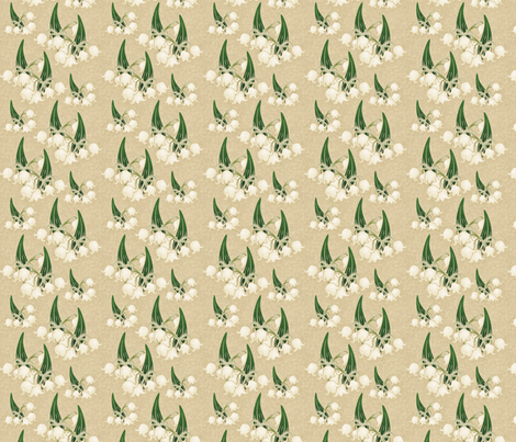 lilyofthevalley2 fabric by hannafate on Spoonflower - custom fabric