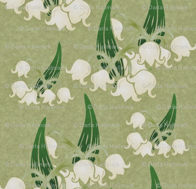 antique lily of the valley