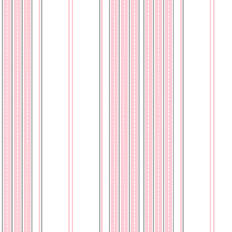 ticking pink fabric by paragonstudios on Spoonflower - custom fabric
