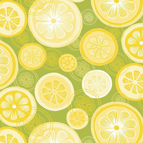 Lemonade Abstract