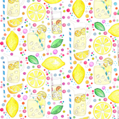 Watercolour Lemons