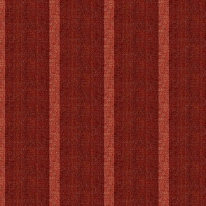 Stoneware - dark cranberry and pink stripe