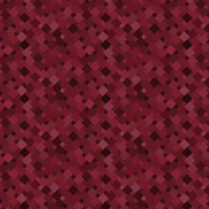 Squares in Maroon